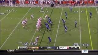 Tajh Boyd vs Duke (2012)