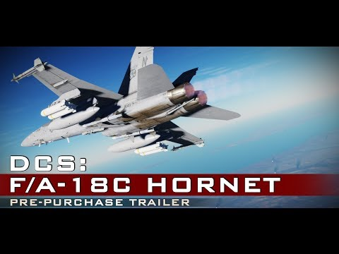 DCS: F/A-18C Hornet - Pre-Purchase Available and Save $20! (видео)