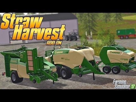 Straw Harvest Add-on - Farming Simulator 17 - Simul8 Gaming
