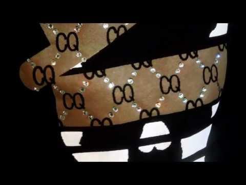 スワロフスキースウェット / Skull Hat CQpattern Swarovski Sweat by CHILDQ