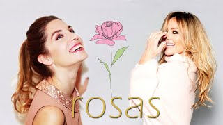 Amaia y Leire a dúo Rosas YouTube