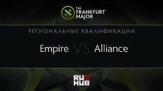 Empire vs Alliance, game 2
