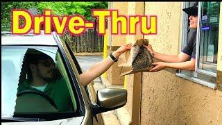 DRIVETHRU  Cómo ordenar COMIDA  en inglés