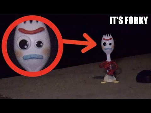 I Found Forky In Real Life! *toy Story 4*