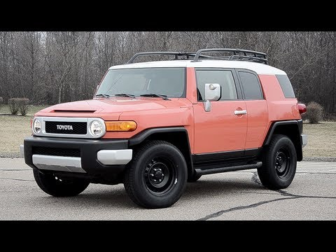 2013 Toyota FJ Cruiser – WINDING ROAD POV Test Drive
