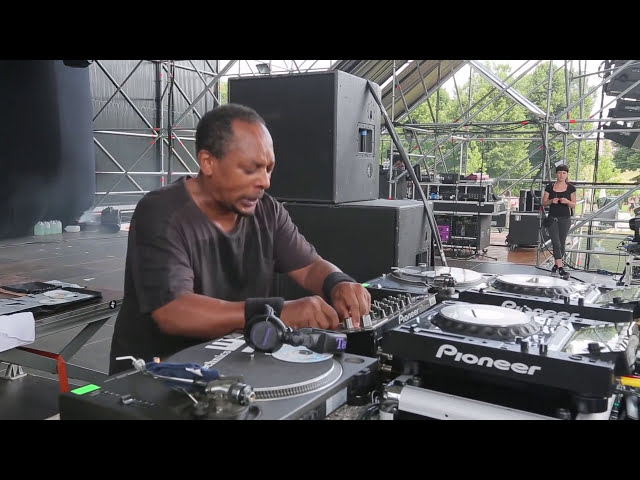 Derrick May @ Kappa Futur Festival 2014 // Day 2 // 06-07-2014