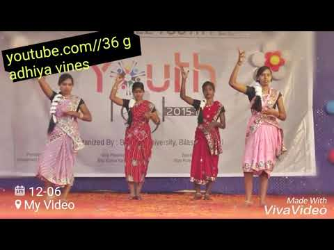Video Tor maya ke mare||bu youth festival||by 36 gadhiya Vines||तोर माया के मारे
