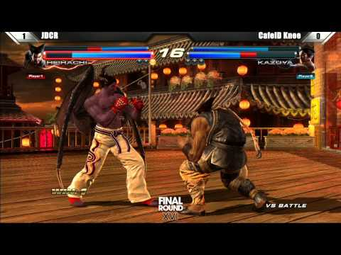 Tekken - Tekken Tag Tournament 2 Grand Finals JDCR vs CafeID Knee - Final Round XVI.