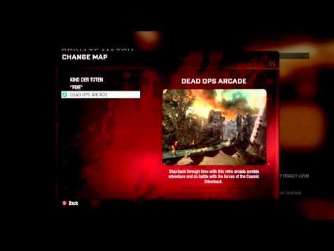 Black Ops Cheat Codes: Dead Ops Arcade – Five – Zork Mini Game