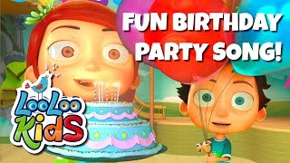 Video HAPPY BIRTHDAY - Fun Birthday Party Song MP3, 3GP, MP4, WEBM, AVI, FLV Maret 2019