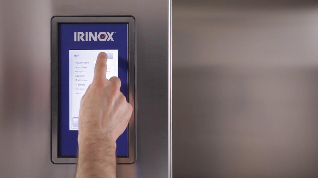 Irinox Multifresh MYA Tutorial - 12 Anschluss an das wifi netz