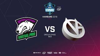 Virtus.pro vs Vici Gaming, ESL  One Hamburg, bo3, game 1 [Maelstorm & Jam]