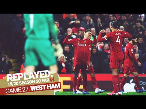 REPLAYED: Liverpool 3-2 West Ham | Reds edge exciting back and forth clash