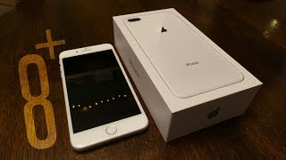 iPhone 8 Plus Silver Unboxing | NL