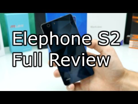 Elephone S2 Plus Review - OPPO R1C Design - Slim MTK 6735 Smartphone [4K]
