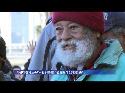 LA 노숙자 증가 5.4.16  KBS America News