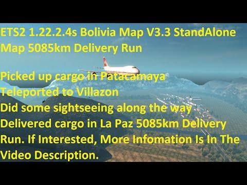 Bolivia Map v3.3