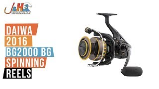 Buy a Daiwa 2016 BG2000 Spinning Reel - http://jhfi.sh/29KKbWN The Daiwa 2016 BG2000 Spinning Reel is a sweet little reel.