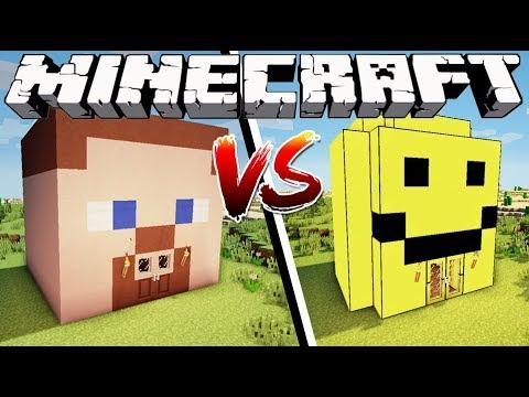 MINECRAFT HOUSE VS ROBLOX HOUSE - Minecraft