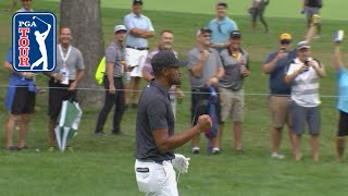 Tony Finau holes out for eagle at BMW Championship 2019 by PGA TOUR