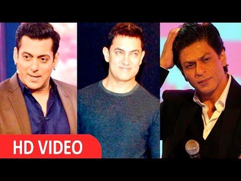 """Salman And SRK Are Bigger Stars Than I Am,"" Says Aamir Khan"