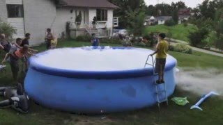 Dry Ice in a Swimming Pool
