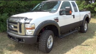 2010 Ford F-350 Super Duty FX4 Startup, Tour&Test Drive