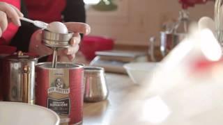 Bûche De Noël Au Café
