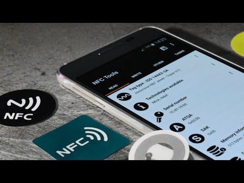 Video of NFC Tools Plugin : Reuse Tag