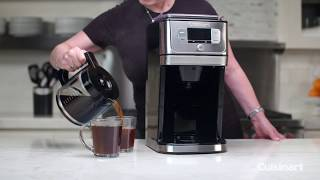 Burr Grind & Brew™ 12-Cup Coffeemaker Commercial Video Icon
