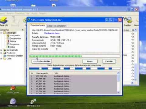 Como recuperar y reanudar descarga con  INTERNET DOWNLOAD MANAGER! (видео)
