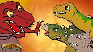 Video Best Dino Songs #1 | Dinosaur Battles and More Dinosaur Songs from Dinostory by Howdytoons MP3, 3GP, MP4, WEBM, AVI, FLV September 2018