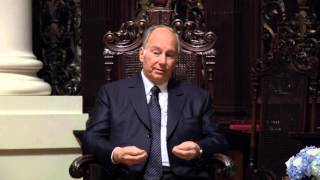 Aga Khan and Harvard Professor Diana Eck in conversation