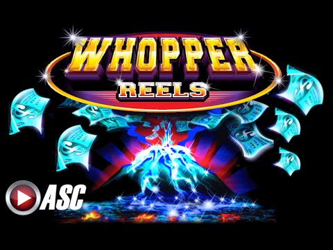 WHOPPER REELS - PURE PLATINUM | BIG WIN!! Slot Machine Bonus (Ainsworth)