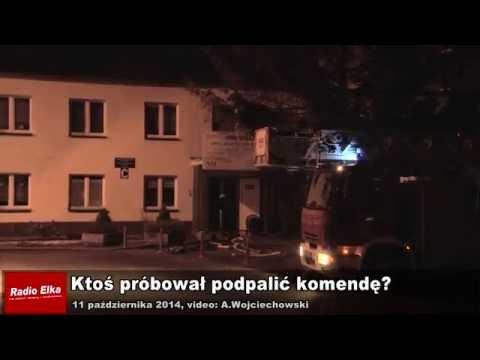 Wideo1: Próba podpalenia komendy w Lesznie?