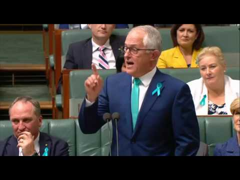 Malcolm Turnbulls sycophant and parasite speech