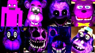 ❤️ 15 PURPLE JUMPSCARES!  FNAF & Fan Games  IULITM. Watch more here: https://www.youtube.com/watch?v=cTJxFuhNSEI❤ Help IULITM reach 2,000,000 Subscribers! ➥ http://bit.ly/IULITMFNAF jumpscares, Five Nights at Freddy's, Plants vs Zombies, Bendy and the Ink Machine is what you will find on my let's play gaming channel. Looking for scares, zombies and animatronic teddy bears then you are in the right place. All the games from Sister Location to Arcade and of course Gargantuar from Plants vs Zombies. Don't forget to check out my brother's channel http://bit.ly/maryogamesPlease Subscribe: http://bit.ly/IULITMOfficial Site: http://www.scottgames.comFNAF Channel: https://www.youtube.com/user/animdude❤ GOD BLESS YOU ❤
