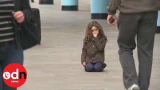 Little Girl Lost: More than 600 people ignore lost child in TV experiment