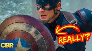 Video 10 Secrets You Didn't Know About Captain America's Shield MP3, 3GP, MP4, WEBM, AVI, FLV Januari 2019