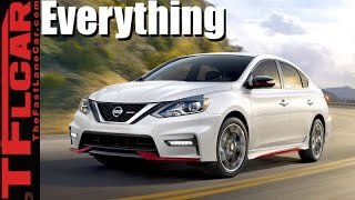 2017 Nissan Sentra NISMO Review: Is Nissan's New Top Dog Sentra More Show Than Go? by The Fast Lane Car