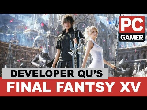 Final Fantasy XV Developer Questions - PC Gamer Weekender 2018 Live Stream