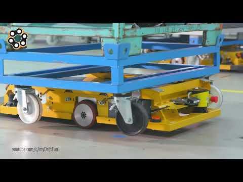 AGV (Otomatk Yönlendirmeli Araçlar) için makine tekerlekleri