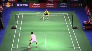 Day 1 - 2014 BWF World Championships - Nguyen Tien Minh vs Howard Shu Read more 2014 BWF World Championships news at http://www.badmintonplanet.com or http:/...