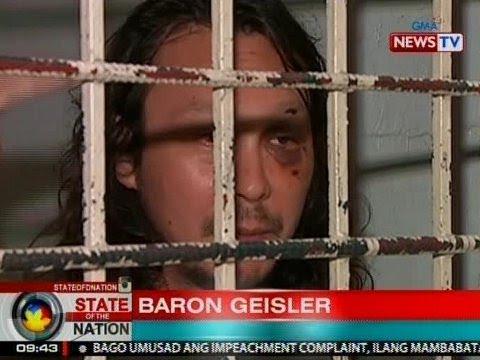 SONA: Baron Geisler, balik-kulungan matapos umanong mag-amok at pagbantaan ang bayaw