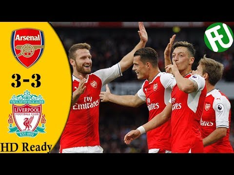 Arsenal vs Liverpool 3-3   All Goals  and  Highlights   22-December-2017 HD
