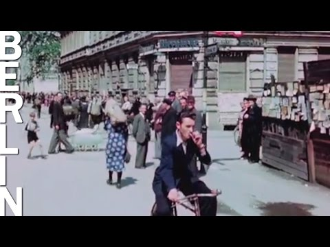 Color Footage Of Berlin In July 1945
