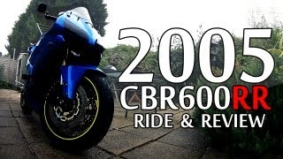 5. 2005 CBR600RR Ride & Review