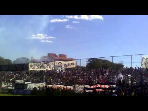 Video - LA ESCOLTA LIBERTAD - recibimiento ultima fecha vs sptvo. luqueño (16DIC2012) - La Escolta - Libertad - Paraguay