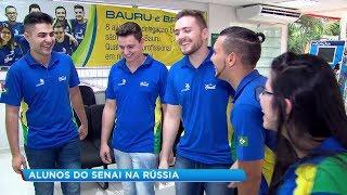 Alunos de cursos profissionalizantes de Bauru representarão o país em competição na Rússia