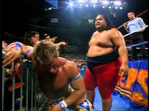 Lex Luger vs Yokozuna (Summerslam 1993)